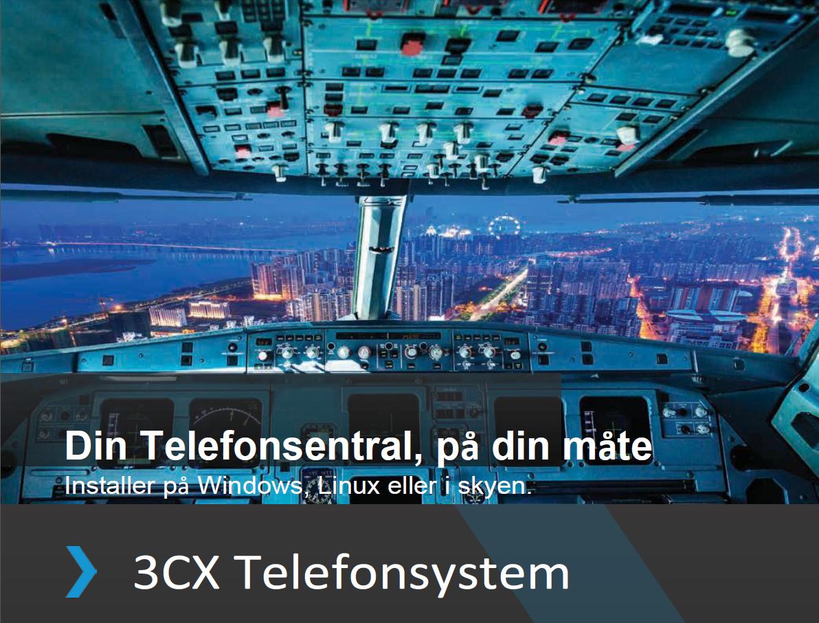 3CX telefonsystem som du vil ha det!